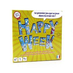 Jeu de société Happy Week Happy week pour enfant de 5 ans à 11 ans - Oxybul éveil et jeux