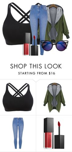 """illusion"" by lozzydutton01 ❤ liked on Polyvore featuring River Island and Smashbox"