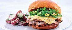 Pork Tenderloin Sandwich with Gouda | Wisconsin Milk Marketing Board