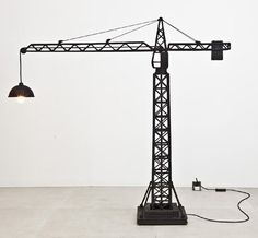 Israels' room    WreckingBallLampCraneLampStudioJob5 Creative Lamps Inspired by Cranes or How to Make Industry Homey