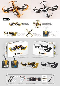 4CH with 6 Axis Gyro RC Quadcopter Drone for Kid| Buyerparty Inc.