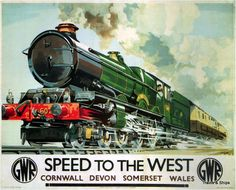 vintage railroad locomotive posters - Buscar con Google