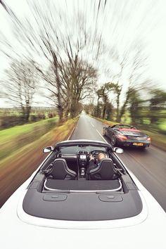 Jaguar XKR-S V AMG SLS