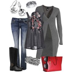 Red Tote Bag, created by smores1165 on Polyvore