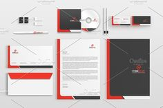 Corporate Stationery Pack -  by bettydesign on https://creativemarket.com/BettyDesign/1098829-Corporate-Stationery-Pack