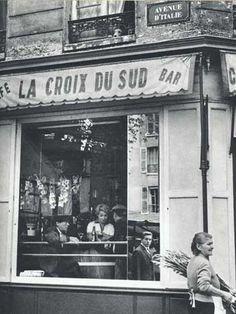 Avenue d'Italie, Paris • Izis Bidermanas