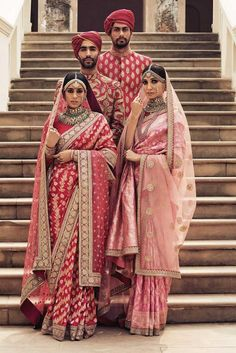 What does that beautiful Sabyasachi Saree Cost? I know I have which is why every time Sabyasachi launches a new collection, I start hunting for Sabyasachi Saree Cost in a frenzy. Ethnic Sarees, Banarasi Sarees, Lehenga Choli, Indian Sarees, How To Dress For A Wedding, Luxury Wedding Dress, Desi Wedding, Saree Wedding, Bengali Wedding