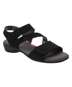 Black Marilyn Leather Sandal