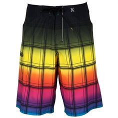 Hurley Mens Contemporary Phantom 60 Puerto Rico Sands Boardshort #VonMaur #Hurley #Trunks #Swimwear #Colorful