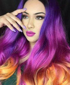 Los peinados de colores para chicas atrevidas PASO A PASO y VIDEOS