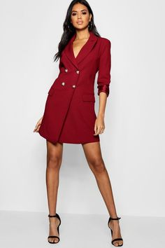 Blaze into the room with our range of blazer dresses for women. Browse buttoned, belted and fun party styles at boohoo Blazer Dress, Dress Up, Bodycon Dress, Skater Dresses, Mini Dresses, Bodycon Fashion, Fashion Dresses, Short Dresses, Dresses For Work