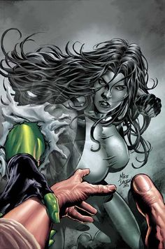 She-Hulk by Mike Deodato Jr
