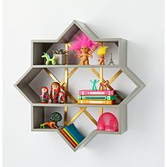 Genevieve Gorder Star Wall Shelf | The Land of Nod