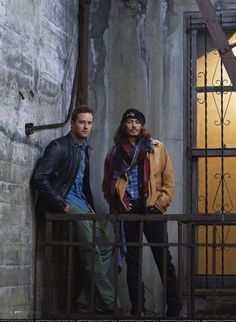 Armie Hammer and Johnny Depp