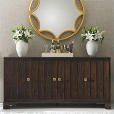 Crestaire - Monterey Buffet in Porter - 436-11-05 - Stanley Furniture - dining room - modern furniture