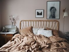 Bedroom Design And Decoration Tips And Ideas - Top Style Decor Modern Bedroom Design, Decor Interior Design, Home Decor Bedroom, Bedroom Furniture, Bedroom Ideas, Luxury Furniture, Trendy Bedroom, Ideal Home, Rattan Headboard