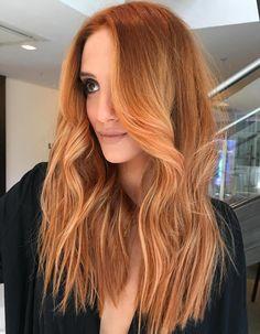 Long Light Red Hair
