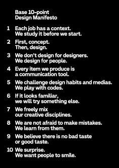 Base — design manifesto