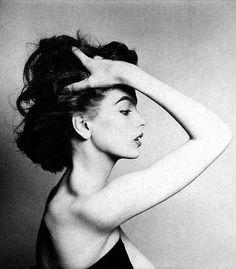 "Rosemary ""Wally"" Coover, photo by Avedon, 1953"