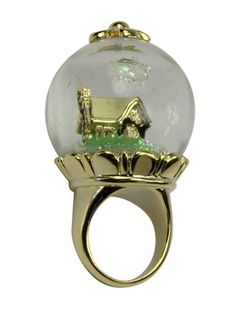 Snow White Snow Globe Ring - LOVE! Get on my finger!