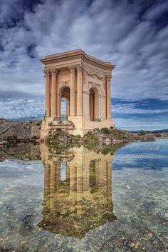 Château d'eau - Jardin du Peyrou @ Montpellier (France) by Eric Rousset