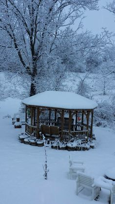 snow scene from our viewer Teddie Hopkins #whsvsnow