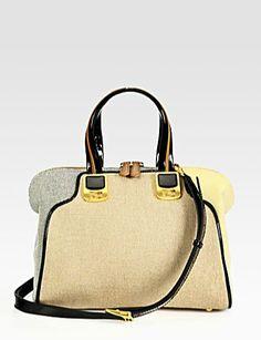Fendi Chameleon Canvas Duffle Bag