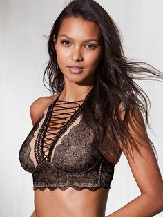 9cd46dab4ad Bras  The World s Sexiest   Best-Fitting Bras - Victoria s Secret. High Neck  ...