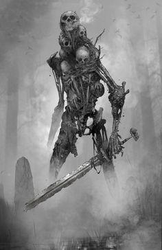 Esta historia comienza con nuestro protagonista que muere pero el no … #aventura # Aventura # amreading # books # wattpad Monster Art, Monster Concept Art, Fantasy Monster, Monster Design, Robot Monster, Dark Creatures, Mythical Creatures, Creature Concept Art, Creature Design