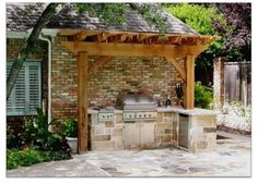 Small Outdoor Kitchen Design Ideas, Pictures, Remodel and Decor