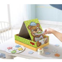 Jeu de société Une cuillère pour Martin Haba pour enfant de 2 ans à 5 ans - Oxybul éveil et jeux