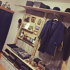 30 Attractive Open Storage Room Ideas For Advanced House Goth Home Decor, Diy Home Decor, Wall Storage, Storage Spaces, Ikea Closet, Closet Designs, Diy Woodworking, Diy Furniture, Niko And