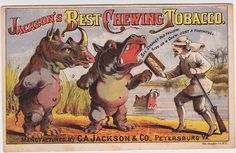 Jackson's Best Chewing Tobacco Trade Card