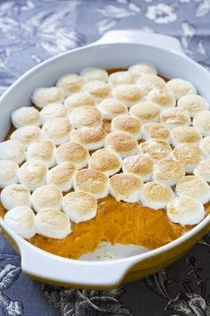 The only sweet potato bake recipe you need for Thanksgiving -- these are whipped up deliciousness http://thestir.cafemom.com/food_party/164422/whipped_sweet_potato_bake_recipe?utm_medium=sm&utm_source=pinterest&utm_content=thestir