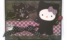 Batty Hello Kitty - Scrapbook.com