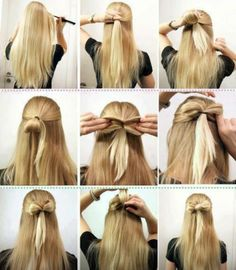 Miraculous 23 Five Minute Hairstyles For Busy Mornings Hair Bows Bows And Hair Hairstyles For Women Draintrainus