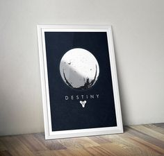 Destiny Art Print  Poster Inspired by by AllGeekyPrints on Etsy, $4.99