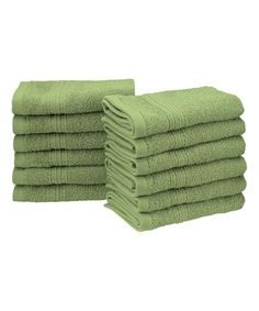 Loving this Terrace Green Washcloth - Set of 12 on  zulily!  zulilyfinds  Decorative 3c9076161