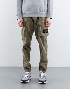 Stone Island Tea Stretch GD Cargo Pant