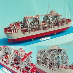"Fantastic!! ""Kommuna"" a submarine salvage ship in service with the Russian Navy's Black Sea Fleet. Unknown modeler #scalemodel #plastimodelismo #plastickits #usinadoskits #udk #miniatura #miniature #maqueta #maquette #modelismo #modelisme #modelism #scalemodelkit #hobby #plamodel #plasticmodel #plastimodelo #miniatur"