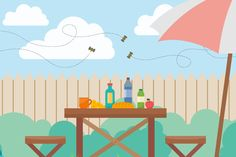 Five Ways to Keep Bees Away from Your Patio Picnic: http://qoo.ly/gqh6k #Patio #Picnic #SummertimeTips
