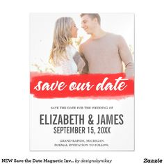 NEW Save the Date Magnetic Invitations