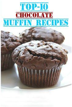 Top-10-Schokoladen-Muffin-Rezepte