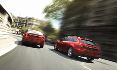 The all-new 2014 #Mazda #Mazda6 side by side with it's wagon variant that was  announced to debut at the Paris auto show.