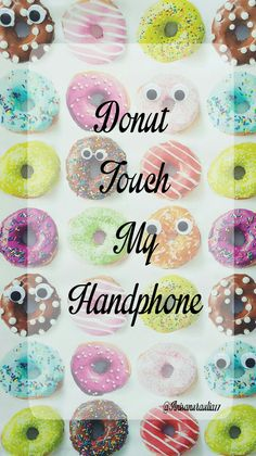 donut touch !