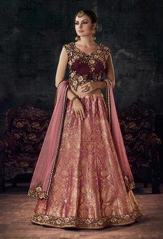 trendy bridal wear lehenga choli for indian weddings UK, pink lehenga choli Pink Lehenga, Lehenga Saree, Bridal Lehenga, Ghagra Choli, Lehenga Choli Online, Choli Dress, Anarkali Dress, Choli Designs, Lehenga Designs