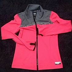 Bnwt VS Ultimate Jacket Small *LOWEST PRICE UNLESS BUNDLED!!! Bnwt super cute jacket PINK Victoria's Secret Jackets & Coats