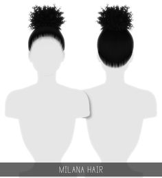 Simpliciaty is creating Custom Content Sims 4 Cas, Sims Cc, Sims 4 Curly Hair, Play Sims 4, The Sims 4 Packs, Pelo Sims, The Sims 4 Cabelos, Sims 4 Children, Sims 4 Game Mods