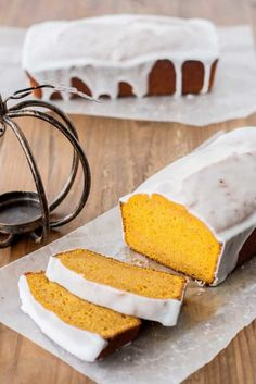Here's the easiest pumpkin bread ever (it's called One Bowl Pumpkin Bread for a reason, you know), with the dreamiest glaze to go with it. Click through for the recipe and more easy pumpkin recipes we love.