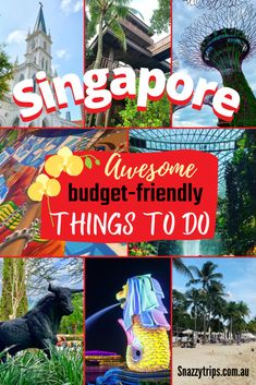 12 Free Things To Do In Singapore - Awesome budget-friendly activities not to miss #singaporetravel #singaporevisit #singaporeguide Singapore Guide, Singapore Travel, Travel Route, Asia Travel, Free Things To Do, Vacation Trips, Budget Travel, Travel Guides, Travel Inspiration
